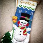 Gordon's Christmas Stocking