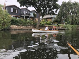 A rowing boat